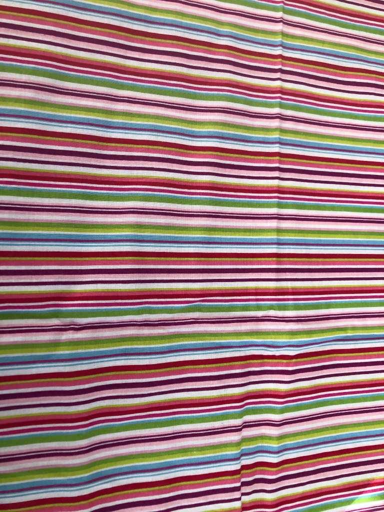 Baumwolle bunte Streifen