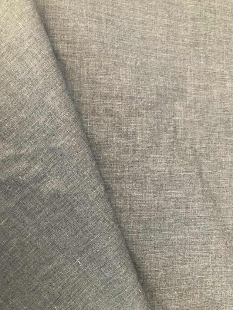 Baumwolle grau meliert